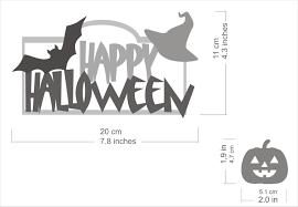 happy halloween sign spooky door sign pumpkin sign halloween