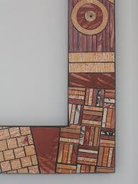lorrie grainger abdo paper mosaic mirror frame haworth family