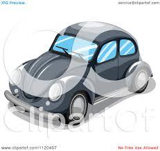 volkswagen bug clip art clipart of a black vw slug bug car royalty free vector