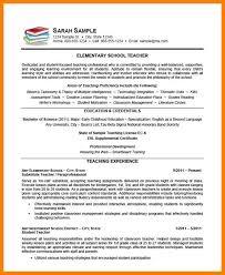 Sample Faculty Resume 7 Resume Samples For Teaching Applicationleter Com