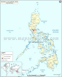 Where Is Greece On The World Map by Where Is Manila Location Of Manila In Philippines Map