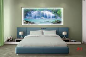 murals big forest waterfall water curtain photo murals big forest waterfall water curtain