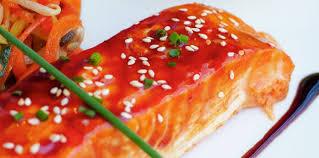 comment cuisiner le pavé de saumon pavé de saumon teriyaki facile recette sur cuisine actuelle