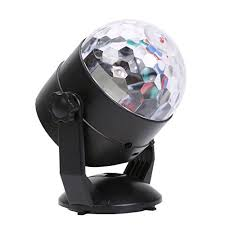 mini disco ball light rrimin mini disco ball rgb led home party light rotating stage light