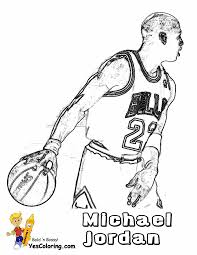 free nba coloring pages coloring home