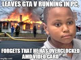 Amd Meme - novideo 970 user sent me this shitty meme ayymd