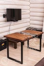 Slab Wood Table by Live Edge Wood Slab Table I Beam Legs Reclaimed Wood Tables