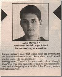 John Mayer Meme - 17 year old john mayer looks like it turned out well oh ya know