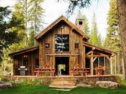 Farm House Designs by Rustic Modern Cabin House Plans For Simple Look Modern House Design