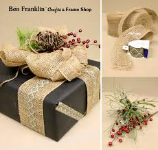 ben franklin crafts and frame shop last minute gift wrapping