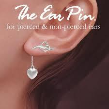 ear pin ear pin earrings with enhancer drop earring dangle