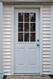 9 Lite Exterior Door 9 Lite Exterior Door Builders Surplus