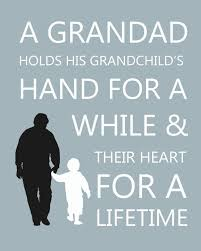 personalised quote gifts gifts for him personalised grandfather and grandson silhouette