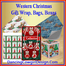 christmas wrap bags christmas gift wrap gift boxes gift bags with western themes