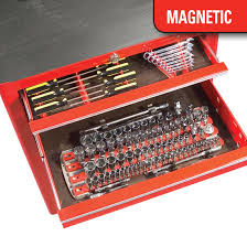 8480 magnetic twist lock complete tool system red 8480