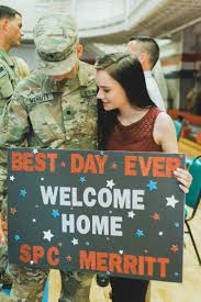 the 25 best military welcome home ideas on pinterest homecoming