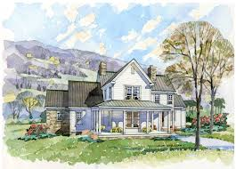 Small French Country Cottage House Plans New South Classics The Homestead Portfolio