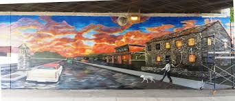 toronto mural canvas artist jajus jajus design royal york and dundas st w toronto west wall 80ft x 15ft