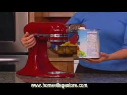 Used Kitchen Aid Mixer by Kitchenaid Stand Mixer Attachment U0026 Accesories Youtube