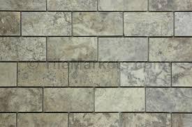 2x4 Subway Tile Backsplash by Travertine Subway Tile Silver A Of Including Backsplash Images