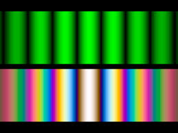 Monochromatic Light Multiple Beam Interference Iridescence Lustre