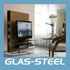 latest living room designs wood tv stand st169 glas steel