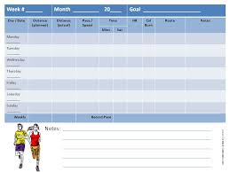 running log template performance sign in sheet forms for stage