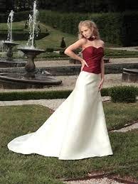 robe de mari e bicolore robe de mariée une robe longue pour des talons hauts mariage