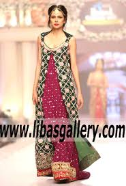 tabassum mughal bridal dresses and luxury gowns telenor bridal