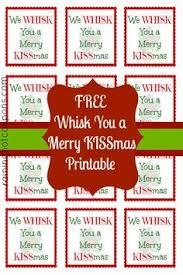 freebie free printable tag we wish you a merry kissmas pink