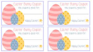 blank easter baskets easter bunny coupons free printable my mini adventurer