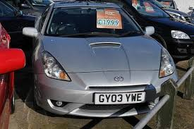 toyota celica vvti for sale toyota celica coupé 1 8 vvti 3d premium style pack for sale