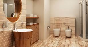 Rustic Bathroom Flooring Bathroom Design In Natural Bamboo Flooring