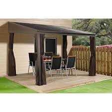 Gazebo With Awning Gazebos Awnings Canopies Outdoor Enclosures Sam U0027s Club