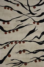 Japanese Area Rug Koi Beige Japanese Area Rug 3 6 X 5 6 By Momeni Rugs Home
