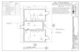 Mechanical Floor Plan Standard Restrooms U2013 Romtec Inc
