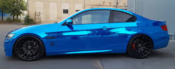 teal blue car autokaratas automobilių poliravimas dengimas nano danga