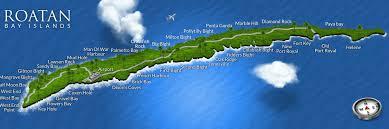 map of roatan honduras roatan honduras travel guide to the bay islands of roatan