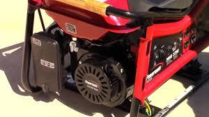 powermate pm0103007 3750 watt portable generator youtube