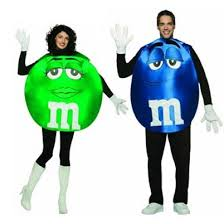 m m costume m m blue green couples