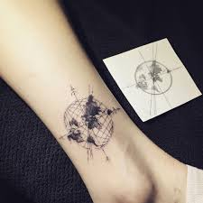 110 Best Compass Tattoo Designs Ideas And Images Compass Tattoo