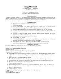Warehouse Resume Examples Shipping Resume Sample Distributor Manager Resume Distributor