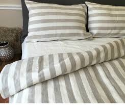ticking stripe comforter bed linen extraordinary grey and white striped sheets grey and