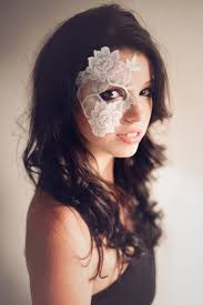 lace masquerade masks for women masquerade mask white lace strapless mask