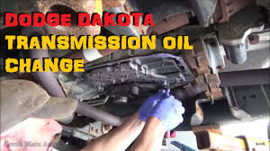 dodge dakota transmission service 45rfe u0026 545rfe youtube