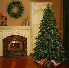 interior awesome pre lit artificial christmas trees ideas with