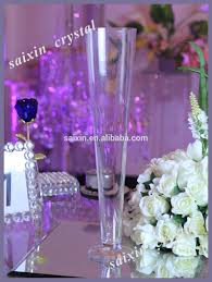 chear tall glass cone shaped vases for home decor buy home