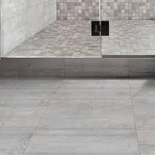 Faience Grise Pour Salle De Bain by Carrelage Sol Et Mur Gris Industry L 15 X L 60 Cm Leroy Merlin