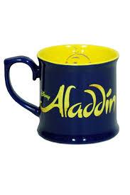 coffee mug aladdin the broadway musical logo coffee mug aladdin the