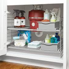 sink kitchen cabinet organizer expandable sink organizer